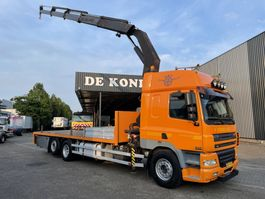 crane truck DAF 85 CF 340 6X2 euro 3 PALFINGER PK 32080 2004