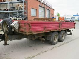 tipper trailer HKM Tandemkippanhänger MTA-K 7,5/50BE Kippanhänger 1997