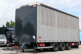 tilt trailer Lecitrailer Pritsche Plane Edacha 3-Achsen Liftachse 2015