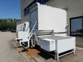 Presscontainer Stationary Garbage Installation + Container 240L - 1100L + Press container 30 cub + fly door 2008