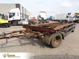 container chassis trailer Meiller K 18ZL + 2 Axle 2002