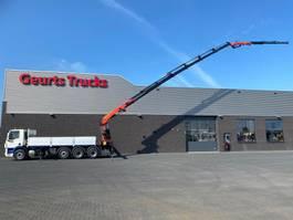 crane truck DAF CF 85 8X4 TRIPLE + PALFINGER PK 40002-EH F + JIB PJ060-B KRAAN/KRAN/CRANE/GRUA 2012