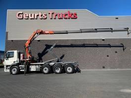 container truck DAF CF 440 8X2 TRIDEM + VDL HAAKARM + ATLAS 206.3E KRAAN/KRAN/CRANE/GRUA 2017