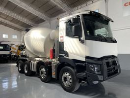 concrete mixer truck Renault C520 Baryval 9m3 2015