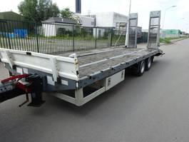 flatbed full trailer Tack 2 ASSIGE AANHANGWAGEN / OPRIJ / HYDRO KLEPPEN / 17.5 INCH !! 2010