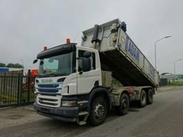 tipper truck Scania P400 8X4 KIPPER / LOW KM / EURO 5 / RETARDER !! 2012