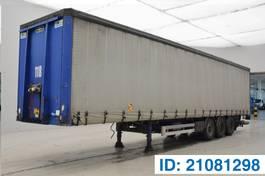 sliding curtain semi trailer Van Hool autliner 2006
