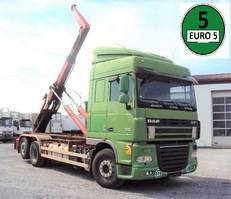 container truck DAF XF 105 510 6x2 Schalter INT Klima AHK 2007