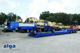 lowloader semi trailer Faymonville STBZ-3VA, Ausziehbar, Verbreiterbar, Dolly-Achse 2002