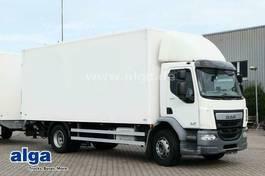 box truck DAF 250 FA 4x2, 6.600mm lang, LBW, AHK, Euro 6 2015