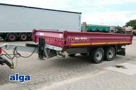 flatbed full trailer Müller-Mitteltal KA-TA-R 11.9, Tieflader, Verzinkt, Alu-Rampen 2014