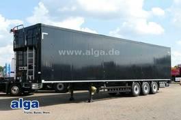 closed box semi trailer Schwarzmüller J-Serie, 92m³, Alu-Chassis, SAF-Achsen, Funk 2016