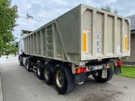 tipper semi trailer Benalu Benalu Fruehauf 2001