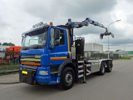 container truck Ginaf x 3232 S 6X4 / PALFINGER Z KRAAN / VDL KABEL 30 TONS / EURO 5 / KEURING / HOLLAND TRUCK / PERFECT CONDITION !! 2011