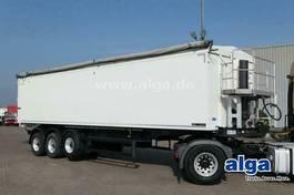 tipper semi trailer Langendorf SK 24, Alu, 54m³, Kombitür, Getreide, Alu-Felgen 2017