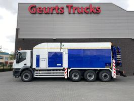 vacuum truck Iveco Trakker 450 8X4 TRIDEM + MTS DINO 5 SAUGBAGGER/SUCTIONEXCAVATOR/GRONDZUIGER 2010