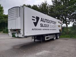 refrigerated semi trailer Van Eck UT-2BI 2002