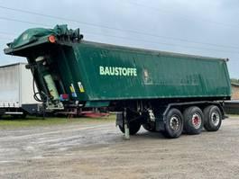 tipper semi trailer Kempf SKM 35/3 Alumulde 28m³ Scheiben 2006