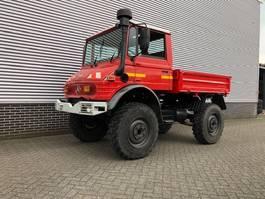 drop side truck Unimog 417 Laadbak 1991