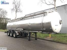 tank semi trailer semi trailer MAISONNEUVE Chemie 32376 Liter 1995