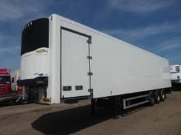 refrigerated semi trailer Sor Carrier , 263 Hoch, Trennwand , Lateral door, roller 2006