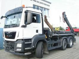 container truck MAN TGS 26 BL 6x2 Absetzkipper Meiller AK16+Fun 2016