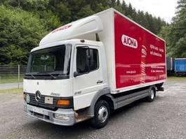 box truck Mercedes-Benz 817 Atego ** Koffer/Rolltor/LBW MBB Hubfix **