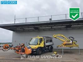 tipper truck Unimog U300 4X4 U3000 4x4 2-Seiten 2003