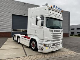 cab over engine Scania R580 V8 Topline Retarder 6x2 boogie full spec 2014