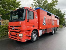 horse truck Mercedes-Benz Actros 2541 6X2 Lenk + Liftachse / Euro 5 2014