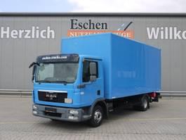 box truck MAN TGL 12 BL, 4x2, LBW, Automatik 2012