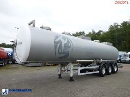 tank semi trailer semi trailer MAISONNEUVE Chemical tank inox 34.2 m3 / 1comp 2003