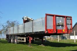 drop side semi trailer Van Hool Stenentrailer 2008