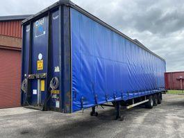 mega-volume semi trailer LAG O-3-39 01 mega schuifzeil  100 cub  nw zeil 2006