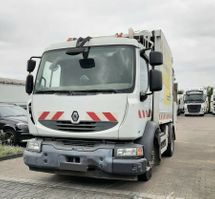 garbage truck Renault Midlum 240 DXi Müllwagen FAUN Garbage Truck 2009