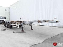 container chassis semi trailer Trailor Oplegger 2007