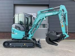 mini digger crawler Kobelco SK28 minigraver AIRCO 3 T NIEUW €130.- LEASE pw 2020