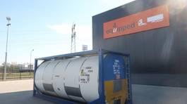 tank container Van Hool 25.000L TC, 2 comp.(12.500L/12.500L), UN PORTABLE, T11 1996
