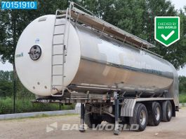 tank semi trailer semi trailer Magyar 3 axles 34.000 Ltr Liftachse 2x Lenkachse Milch 1 Comp. 2011