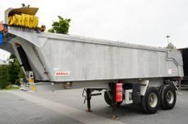 tipper semi trailer Benalu All aluminum BENALU 21 M3 tipper semi-trailer with springs 2011