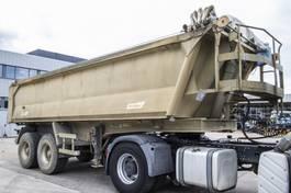 tipper semi trailer Benalu 2 X STEEL/BLAD/RESSORT 2005