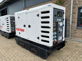 generator SDMO R110 C3 John Deere Leroy Somer 110 kVA Supersilent Rental Stage 3A generatorset 2013