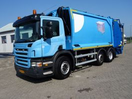 garbage truck Scania P280 geesink GPM111 SYSTEEM 2009