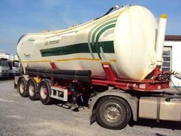Siloauflieger Kässbohrer 3 achs Kippsilo 40m³ luft BPW Vakuumschaden 2011
