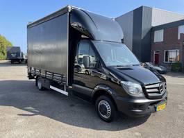 Transporter Pritsche und Plane Mercedes-Benz 516 Cdi schuifzeil 2014 2014