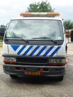 tow-recovery truck Mitsubishi Canter 2005