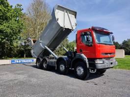 tipper truck Renault Kerax 420 8X4 BENNE