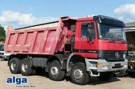 tipper truck Mercedes-Benz Actros 4140 8x6, Stahl, 20m³, Blattfederung 2000