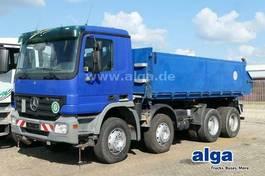 tipper truck Mercedes-Benz Actros 3241 K 8x4, Klima, Blattfederung 2005