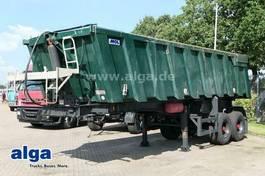 tipper semi trailer MOL K85F/20T/37AL, Hardox, Stahl, Alu-Chassis 2002